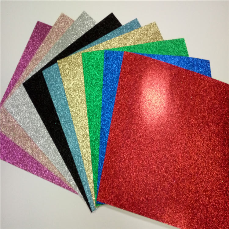 25 piece factory wholesale craft paper for decor glitter for Craft paper card stock