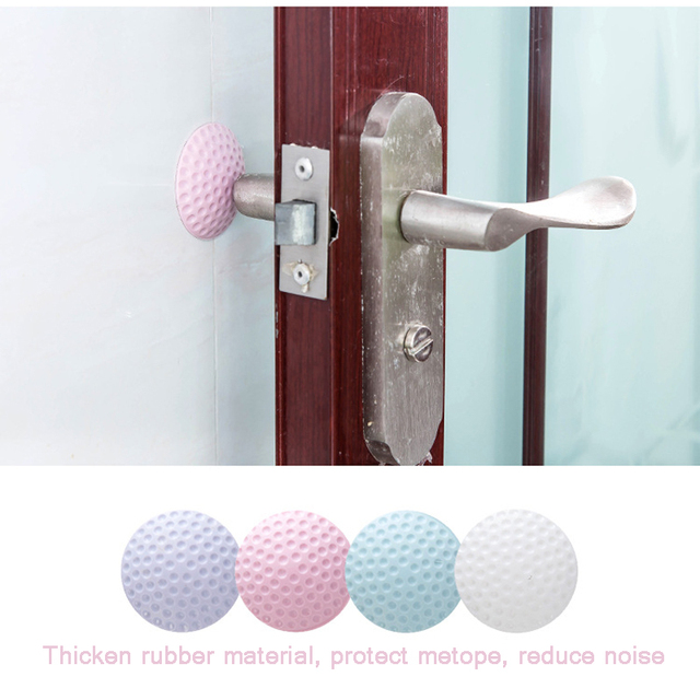 5cm Rubber Collision Buffer Wall Sticker Golf Model Buffer Door Lock Collision Protective Wall Thickening Mute 3D Wall Stickers