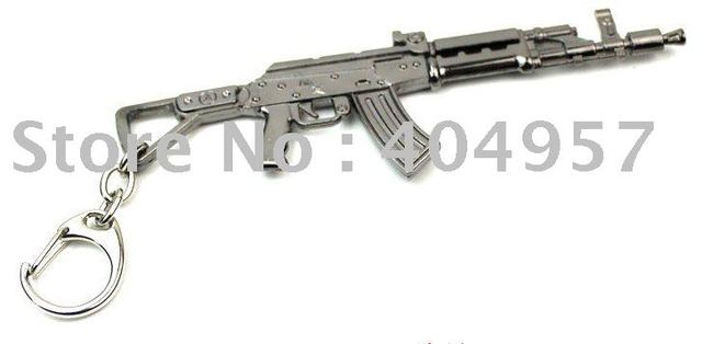 Wholesale 10/lot,Keychain,Gun keychain,Keyring is made of kirsite with free shipping