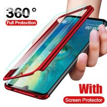 360 Full Cover Protective Phone Case For Xiaomi Mi 9 SE Max 3 2 A2 Lite For Xiaomi Redmi Note 7 6 Pro S2 With Glass(China)