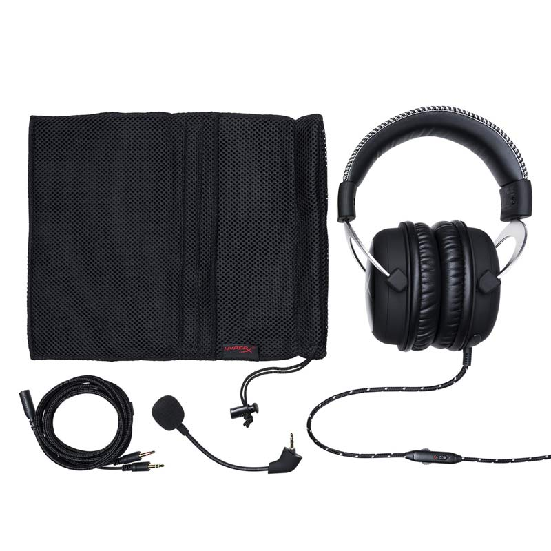Hyperx Nube Profissional Bass Auricolari Gaming Headset cuffie con microfono 3.5mm Ecouteur mobile Cuffie per PC, Xbox PS4