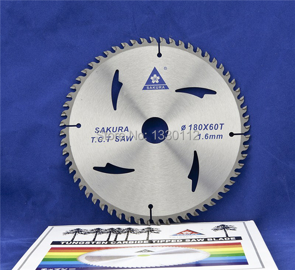 7 40T or 180*2.2*40T*25.4 TCT wood cutting saw blade circular saw cutting disc for woodworking with other sizes free shipping 12 300x3 2x100tx25 4 30 wood cutting saw blade for chipboard shaving board with other sizes of saw blades
