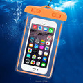 Sealed Waterproof Bag For iPhone 5 6 7 Samsung Android Devices Below 5.7 inch Phone Case Diving Swimming Partner Sensitive Touch