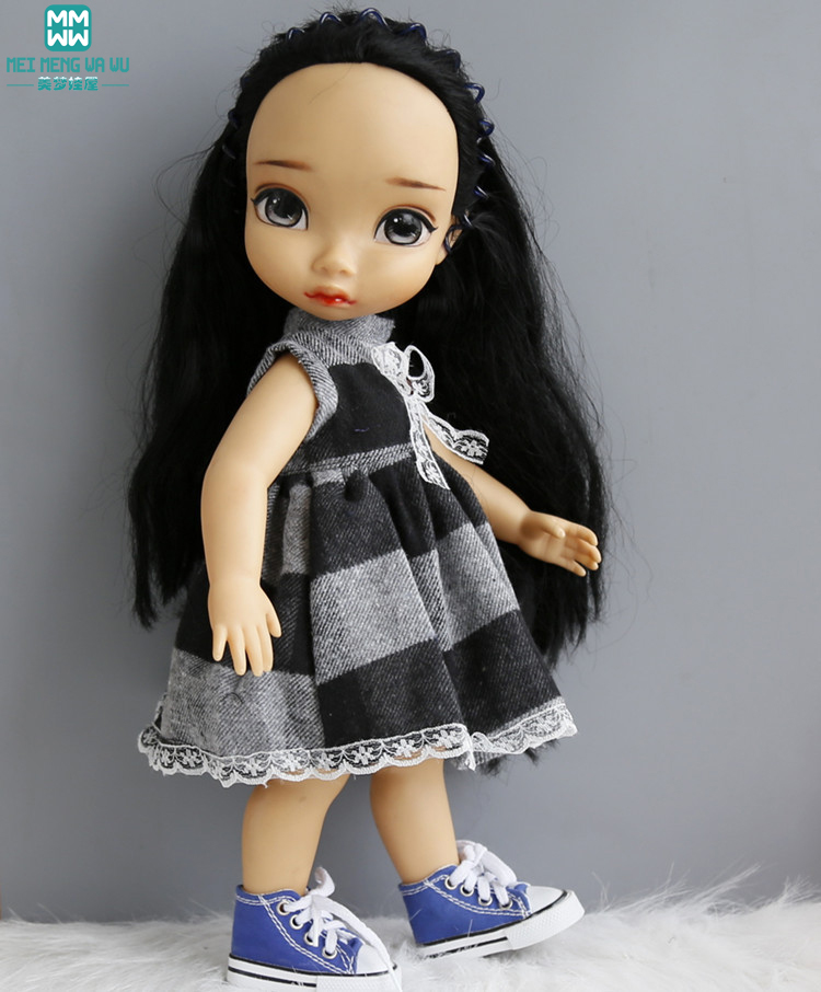 Kläder till dockor passar 16 tum 40 cm salong docka Svart och vit - Dockor och tillbehör - Foto 2
