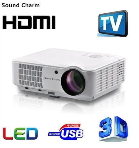 Klang Charm Volle HD LED TV Android Projektor HDMI 3D Heimkino Projektor