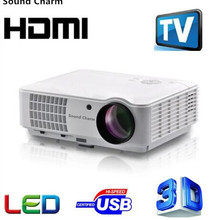 Sound Charm Full HD LED TV Android Projector HDMI 3D Home Th