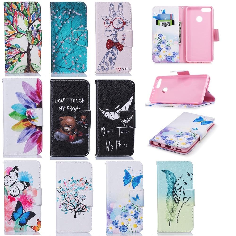 Para Huawei Honor 4X Ajustable Diseño De Cuero PU Abatible Estuche Accesorios para teléfonos móviles y PDAs Móviles y telefonía