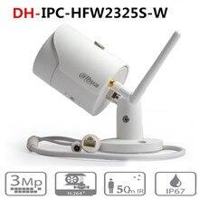Dahua IPC HFW2325S W 3MP IR50M IP67 מובנה WIFI SD כרטיס חריץ רשת חיצוני WIFI מצלמה להחליף IPC HFW1320S W IP מצלמה