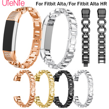 For Fitbit Alta smart watch frontier/classic replacement Diamond strap For Fitbit Alta HR wrist wristband accessories watchband watchband silicone strap for fitbit alta wrist replacement band smart watch fitness strap accessory