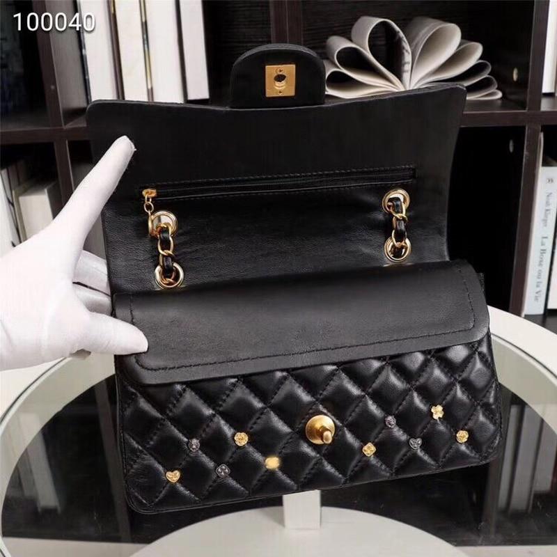 Black De Veau black Gamme Mode Qualité Haut Nouveau Sac100Sac En Gratuite Chain Dame À Chain Gold Silver 2019 La CuirLivraison EHY9IWD2