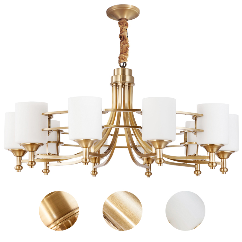 Contemporary and contracted copper lamp new classic study restaurant pendant Chinese style bedroom lamps contemporary and contracted creative personality full copper lamp droplight bedroom restaurant corridor lamps and lanterns