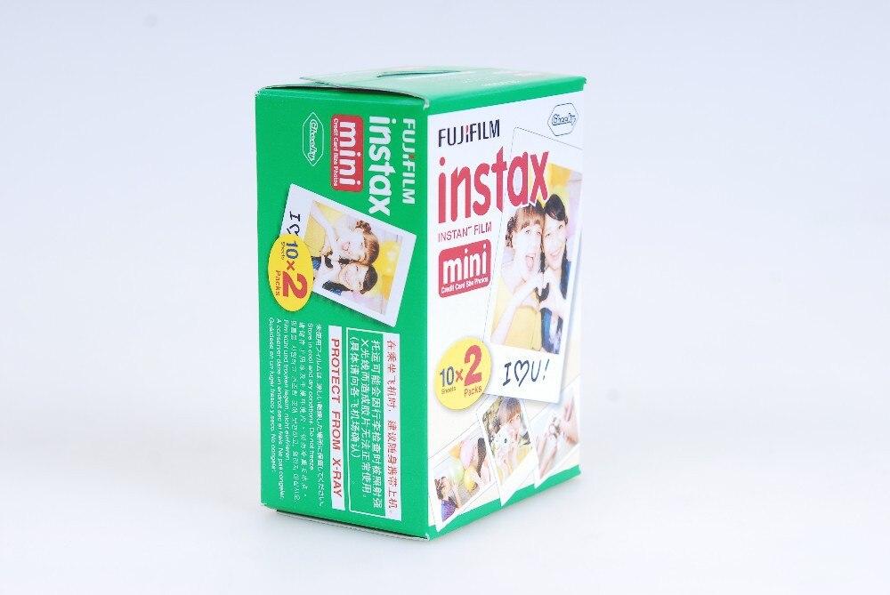 Original Fujifilm instax mini 8 9 film pour 7 S 25 8 50 s 90 polaroid appareil photo instantané mini film blanc edage (60 feuilles) + cadeau gratuit - 5