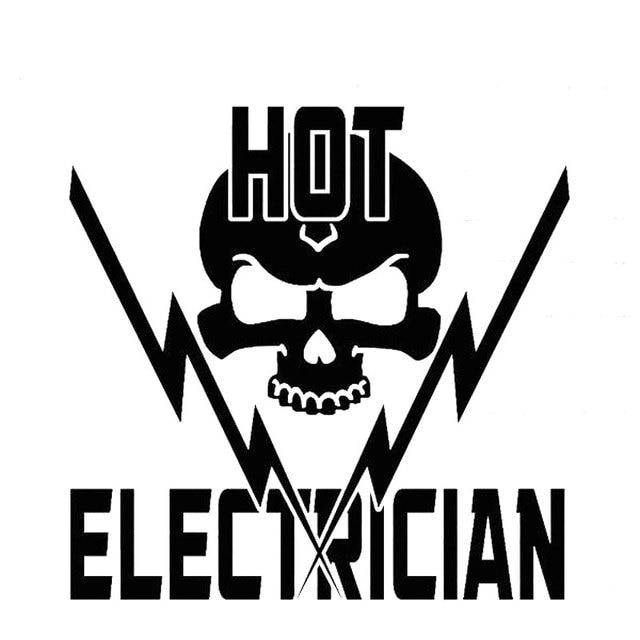 14 cm   13 6 cm a1 hot elektricien schedel elektriciteit transformator lijn lineman