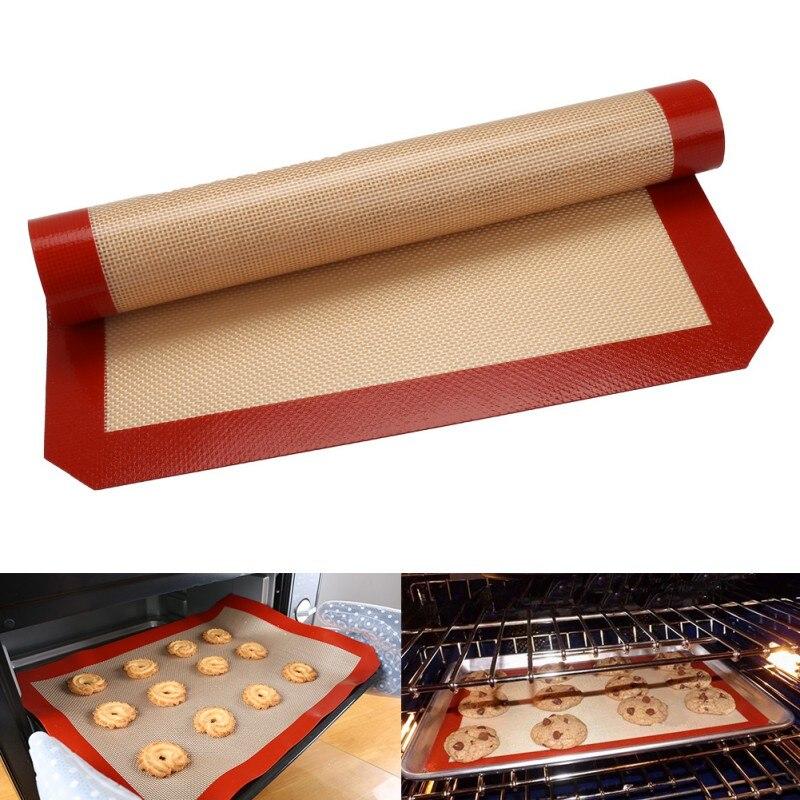 Large Size Non Stick Silicone Baking Mat Pad Baking Sheet