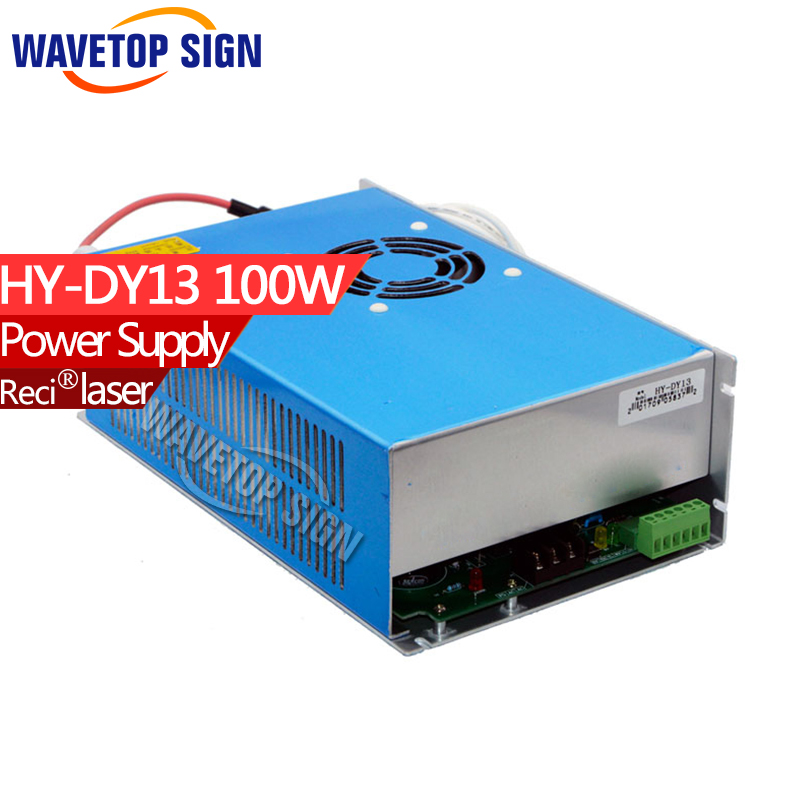 DY13 laser  Power Supply 100W for W4/Z4/S4 Reci Co2 Laser Tube Driver Engraving Cutting Machine dy13 co2 laser power supply for reci s4 and z4 co2 laser tube