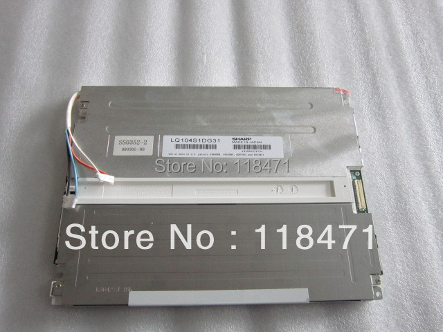 Sell 10.4 inch LCD Panel LQ104S1DG31 perfect 12 months warranty