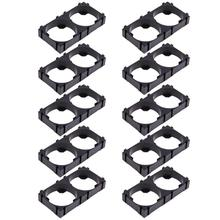 10Pcs 26650 2x Lithium Batterie Triple Halter Halterung Für Diy Batterie Pack Hohe Qualität Batterie Halter