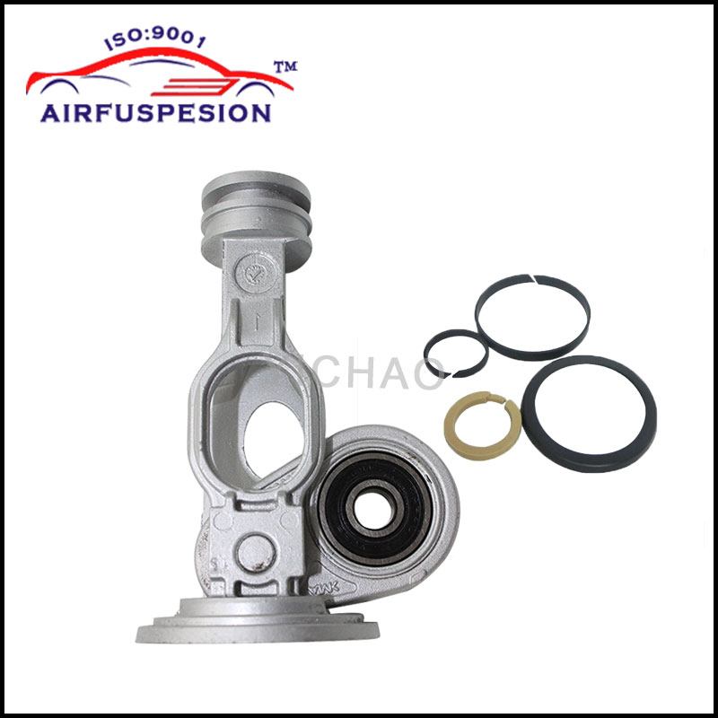 Free Shipping for Mercedes W164 W221 Connecting Rod With Rings Air Suspension Compressor Pump Repair Kits 1643201204 1663200104 silver tone aluminum alloy air compressor connecting rod 12mm x 20mm x 69mm