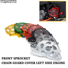 Motorcycle Front Sprocket Chain Guard Cover Left Side Engine For Kawasaki z1000 z 1000 Z1000 2010 2011 2012 2013 2014 2015 2016 motorcycle accessories front sprocket left side chain guard cover engine protection moto for kawasaki z1000 z 1000 2010 2017