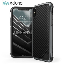 For iPhone 8 Case, X-Doria Defense Lux Series - Military Grade Drop Tested Protective Case for