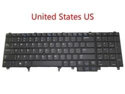 Laptop wielkiej brytanii usa JP klawiatura do dell E5520 E5530 E6520 E6530 M6700 M6600 M4800 M4700 M4600 wskazując (zjednoczone królestwo wielkiej brytanii) angielski japoński