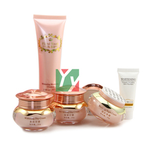 2012 New Product Floral Youth Skin Care Cream Set whitening day and night cream 3 in 1