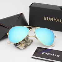 EURYALE 3O25 Classic Fashion Men Women S Sunglasses Reflective Coating Lens Eyewear Accessories Sun Glasses For