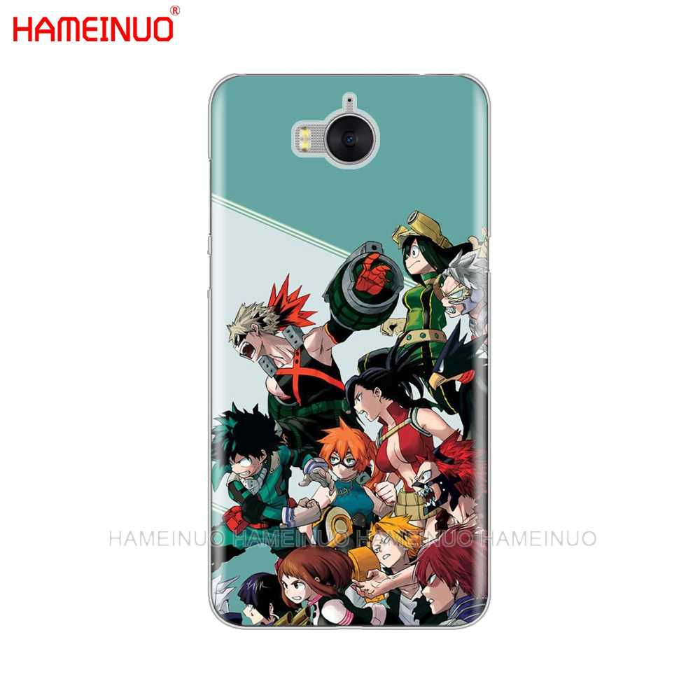 HAMEINUO My Hero Học Viện Animecell điện thoại Cover Case cho huawei honor 3C 4X 4C 5C 5X6 7 Y3 Y6 Y5 2 II Y560 2017