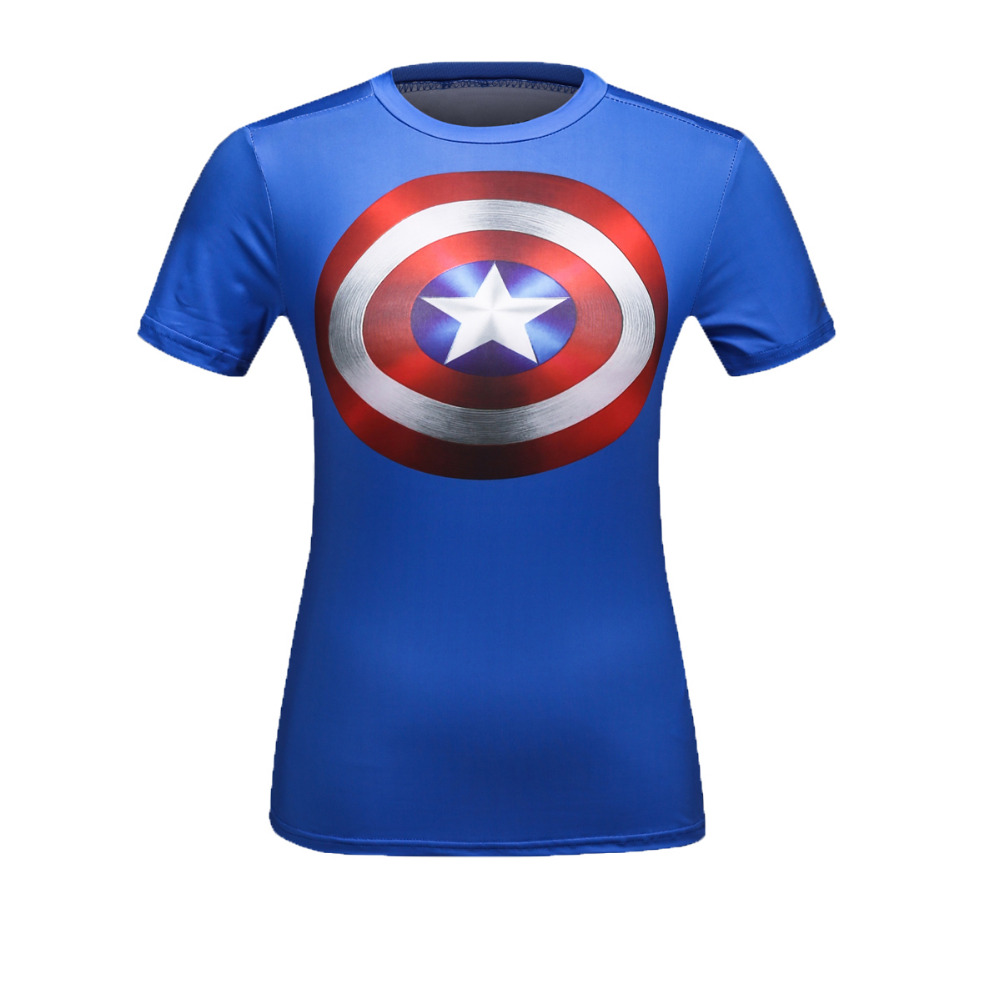 Θηλυκό Superheroes Marvel Superman / Captain America / - Αθλητικά είδη και αξεσουάρ - Φωτογραφία 3