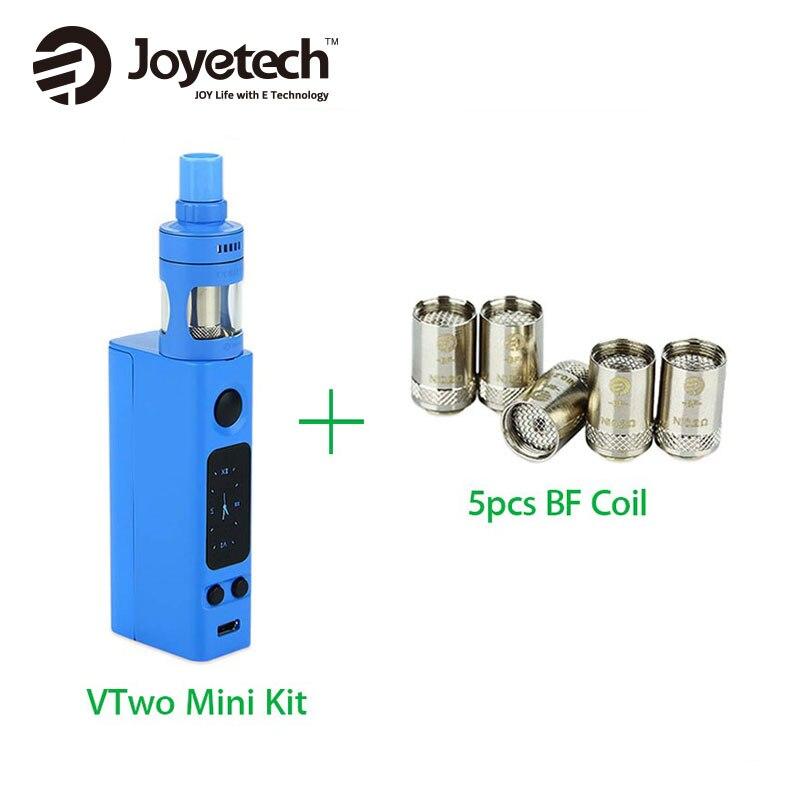 Original Joyetech eVic VTwo Mini Vape Kit Electronic Cigarette w/ Cubis Pro Tank with 0.6ohm 5pcs BF Cubis Coil NO Battery original lost vape therion bf dna75 75w battery cover