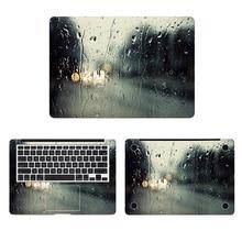 Rain Glass Laptop Skin Sticker for Apple Macbook Decal Pro Air Retina 11 12 13 15 inch HP Mac Book Art Full Cover Notebook Skin