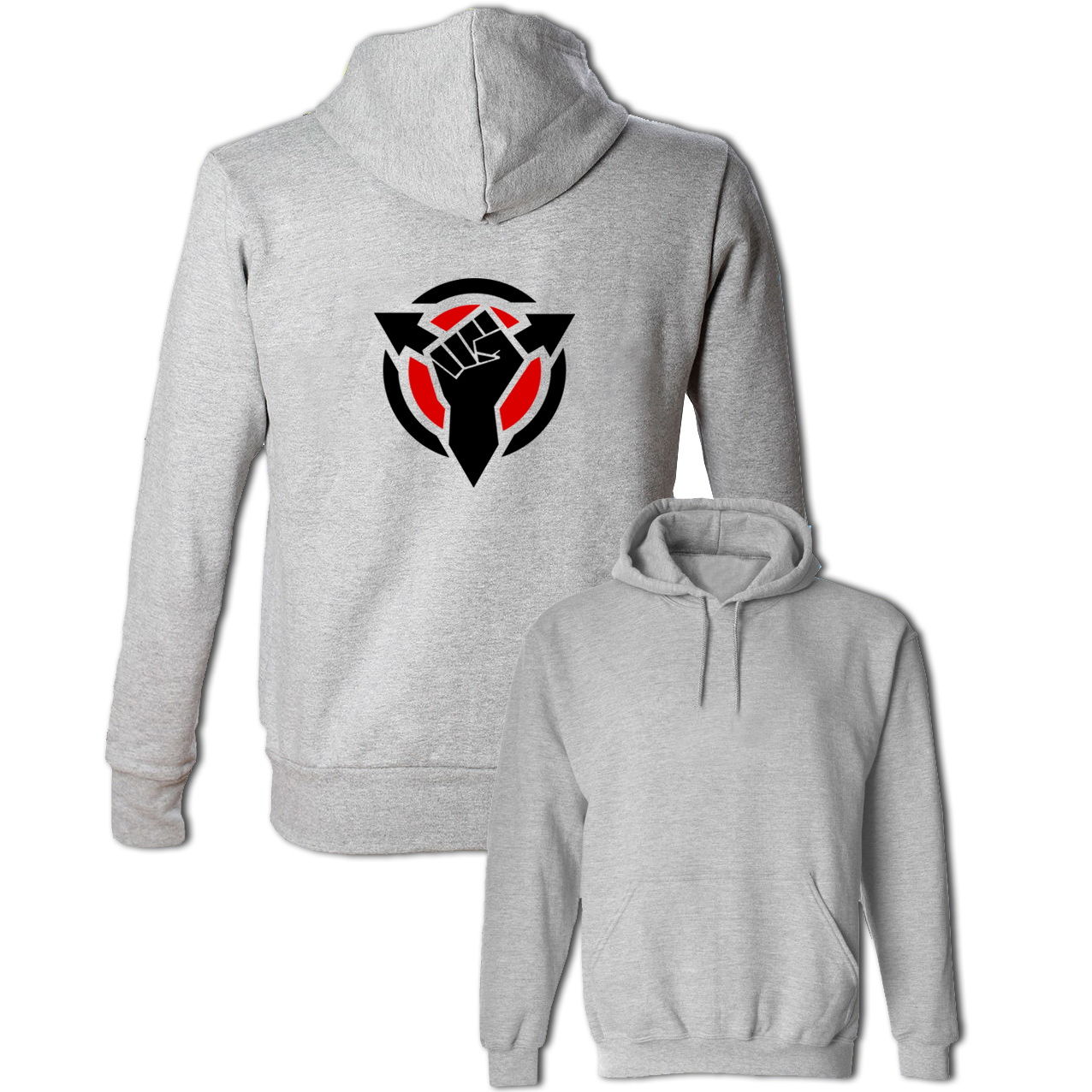Killzone Black Hand Design Hoodie Mens Womens Boys Girls Sweatshirt Fashion Hip Hop Hooded Tops Multi Color Cotton Outwear