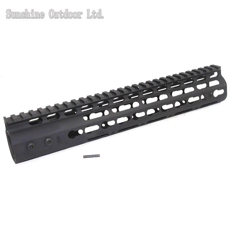 ФОТО Real aluminum CNC ultra-light weight 11 inch keymod HandGuard rail system