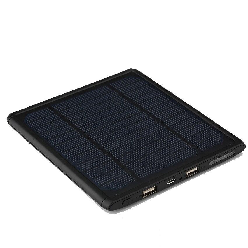 bilder für Tragbare solar power bank 16000 mah externe bewegliche ladegerät dual usb bateria externa powerbank für iphone 6 s handy