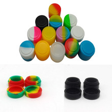 Big Lots 2ml Silicone Container Non-stick Wax Jars Dab Storage Weed Jar Oil Holder For Vaporizer Vape 500pcs/lot