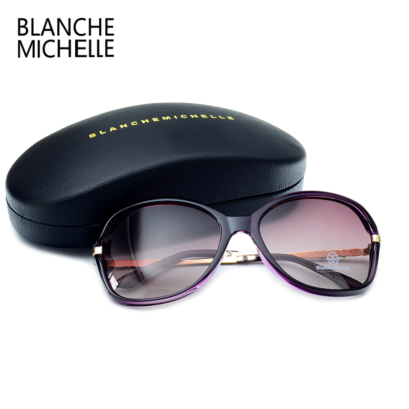 2018 New Fashion High Quality Sunglasses Women Polarized UV400 Sunglass Gradient Lens Butterfly Sun Glasses For Woman With Box 4