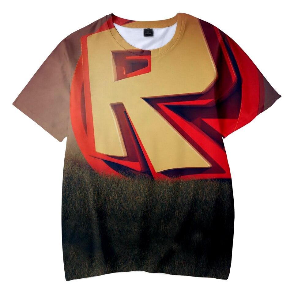 RECHALLENGE 2018 New 3D Game Print   T     shirts   Summer Short Sleeve Cool Kid's   T  -  shirts   Kids   T     Shirts   Boys/Girls Tops Tee