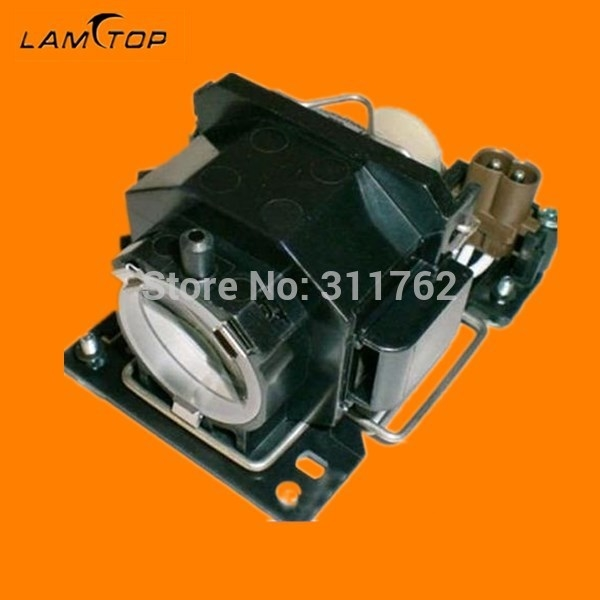 High quality compatible projector bulb with housing  DT00821 for  CP-X6 HCP-600X good quality projector bare bulb dt00821 for hitachi cp x5 x3 x264 x3w x5w x6 x6w projector