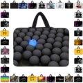 Hot 14 15.6 13 11.6 10 7 17.3 pulgadas portátil bolsa bolso bolso de la manga protectora casos cubierta de bolsa para macbook pro air reina hp acer