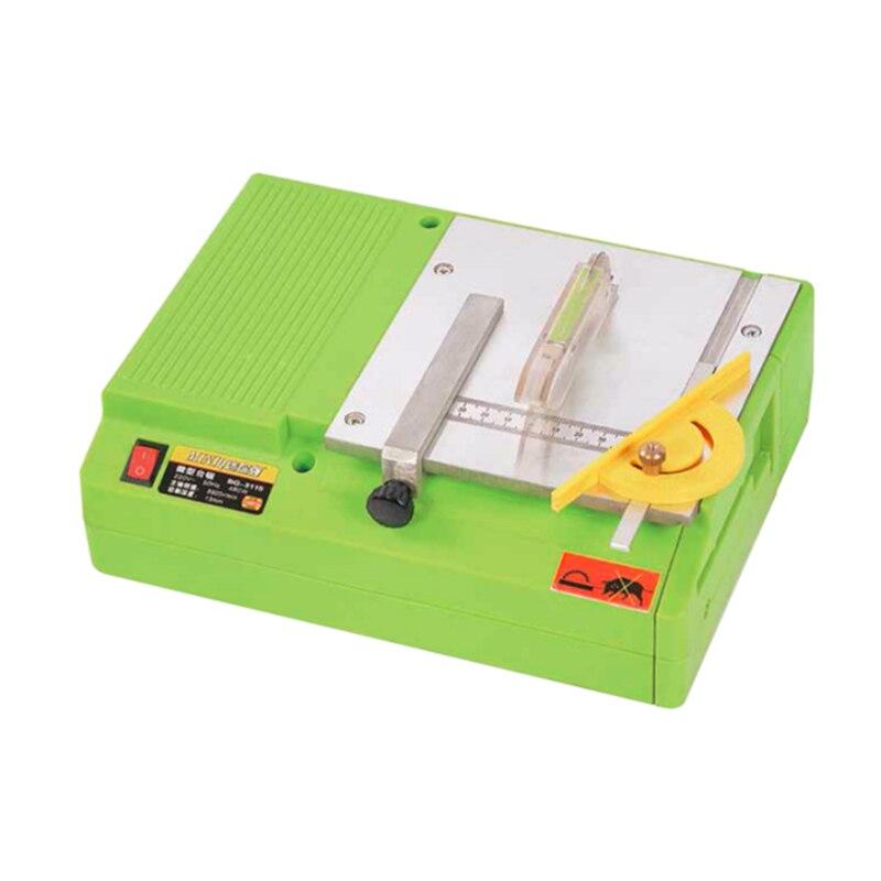 Multifonction Mini Table scie à bois banc tour bricolage électrique polisseuse meuleuse coupe scie passe-temps modèle artisanat outil de coupe