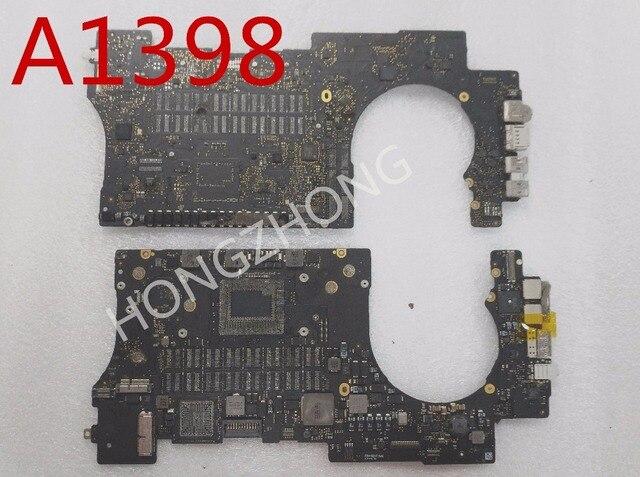 """A1398 2013 años 820 3787 820 3787 A placa lógica defectuosa para reparación de 15 """"A1398 presenta una plantilla smc"""