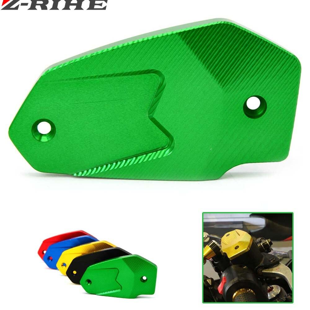 Příslušenství pro motocykly CNC Hliníková brzdová kapalinová nádržka pro olej Kawasaki Z800 ER6N / F Versys650 ninja 650 Jednoduchá instalace