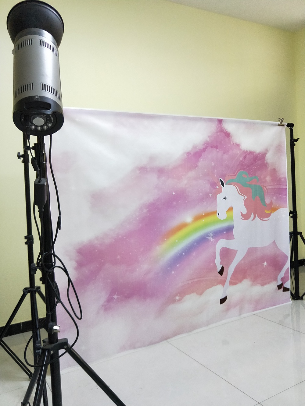 c8da430a3827c HUAYI customized unicorn birthday backdrop photography backgrounds vinyl  wedding backdrop birthday party background W 335-in Background from  Consumer ...