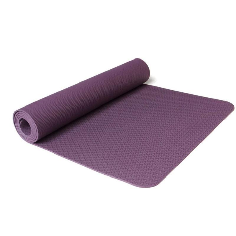 6 Colors Sports Yoga Mat Multifunctional Yoga Mat Sling Strap Elastic NBR Non-slip Fitness Gym Belt Sports Exercise