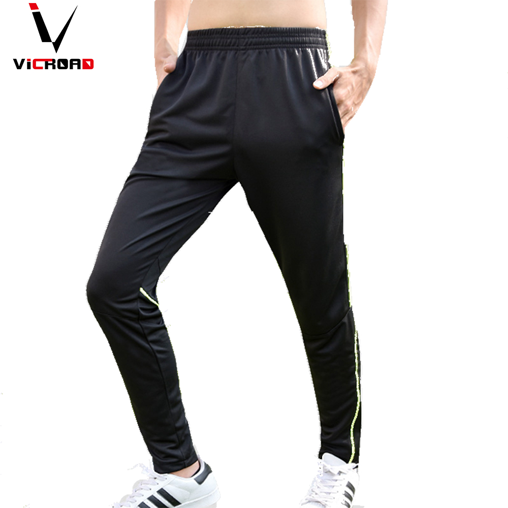 Vicroad 2017 mens running pants stretch large size cool mens fitness gym sports pants leisure skinny man sweatpants