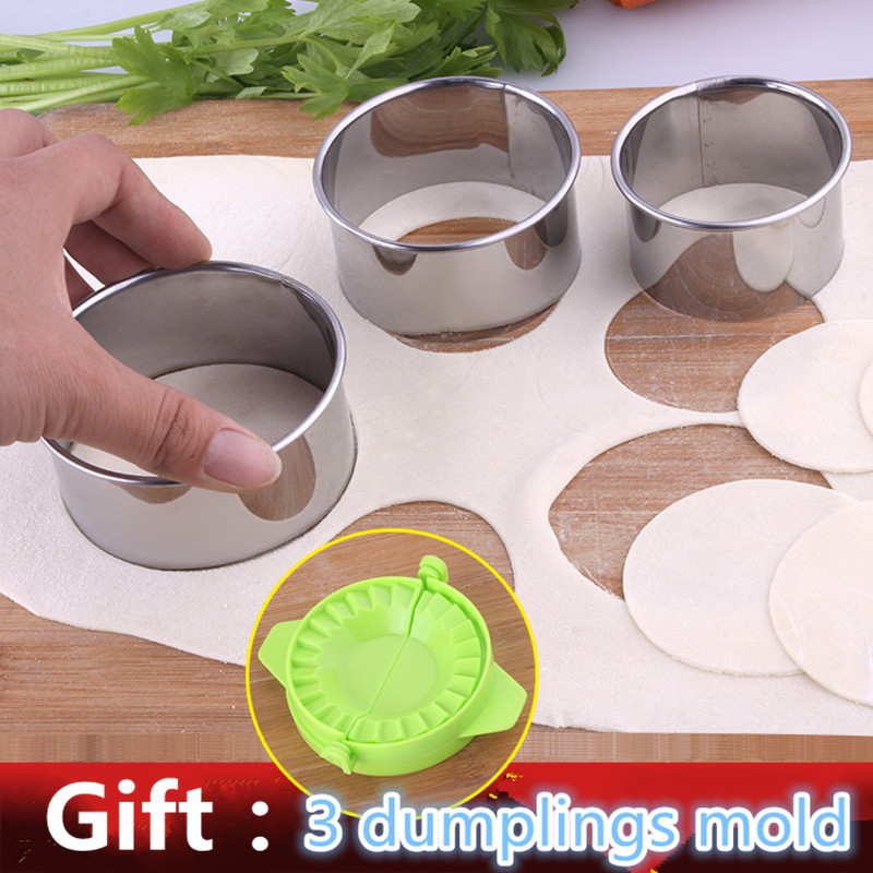 6pcs/Lot Home DIY China Dough Press Dumpling Maker Ravioli Making Dumpling Wrappers Cuuter Mold Tool6pcs/Lot Home DIY China Dough Press Dumpling Maker Ravioli Making Dumpling Wrappers Cuuter Mold Tool