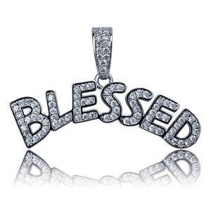 Image 3 - TOPGRILLZ collier avec pendentif en forme de bulles pour hommes et femmes, collier à bijoux en Zircon cubique, style Hip Hop, couleur or argent glacé