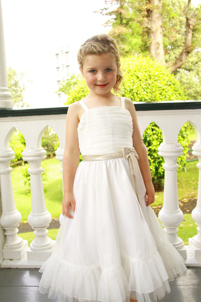 Free Shiping Flower Girls Dresses For Wedding Gowns Ankle-Length Mother Daughter Dresses Tulle Holy Communion Dresses fast shiping for choosing