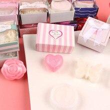 20 шт./лот, мыло для душа для малышей на свадьбу, Подарочная посылка, детское ароматизированное мыло