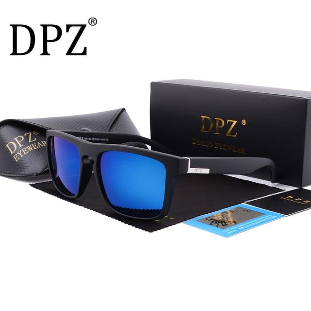 ff4e44d8e28eed DPZ Polarized sport Sunglasses Men Brand Designer 2018 Sunglasses Women  Sunglasses Male Female UV400 original package